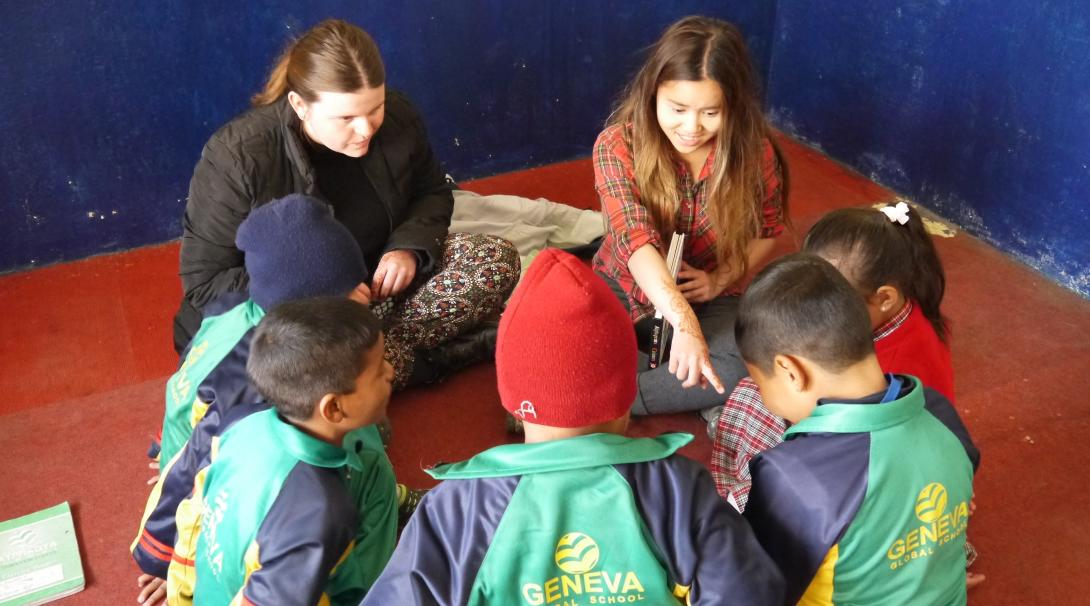 Volunteer with children in Nepal with Projects Abroad and promote early childhood development.